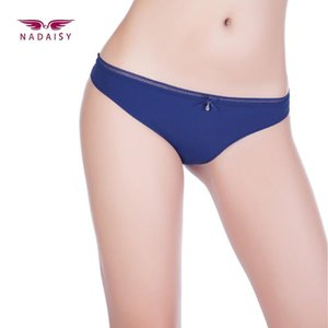 Wholesale bikini charms for sale - Group buy Nadaisy Fashion Women Sexy Underwear Seamless Panties Solid Thong Bikini Panties Lady s Charming Low Rise New Design