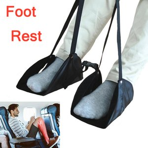 Wholesale New Foot Rest Comfy Hanger Travel Airplane Footrest Hammock Made with Memory Foam Foot Travel Rest