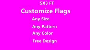 Wholesale 3x5 FT Custom House Divided Flag Windless Banners Polyester Fans Any Basketball Football Team Flag Racing USA Presidential Trump Flags