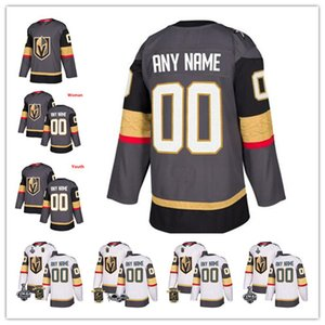 Wholesale Custom Vegas Golden Knights Fleury Pacioretty Reaves Stanley Cup Gray White Any Number NameTuch Eakin Mark Stone Inaugural Jerseys