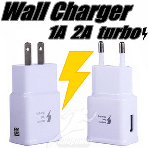 Wholesale turbo charged for sale - Group buy 1A A USB US EU Plug Wall Fast Charger and Turbo Adapter Fast Charge For Samsung HUAWEI Android all mobile phone
