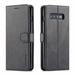 Wholesale LC IMEEKE Leather Flip Case For Samsung Galaxy S10 S9 S8 plus S10E G Note A6 A7 A8 J4 J6 Case Cover Phone Cases Wallet Card slot
