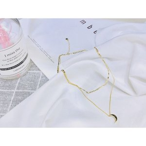 Wholesale 2019 The new women s necklace charm fashion wild classic stack into a snake bone chain style goddess series excellent