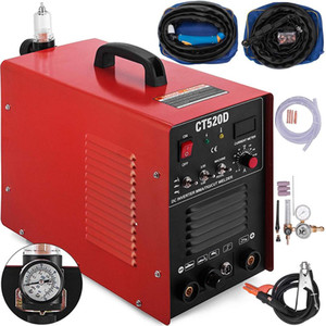 Plasma Cutter CT520D 3 In 1 Combo Welding Machine Tig Welder 200A Arc Welder 200A Plasma Cutter 110V  220V