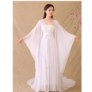 Adult Cosplay Chinese Ancient Fairy Halloween Costume Summer Chinese Traditional Dynasty Hanfu Dress Fairy Dresses Dance Clothing