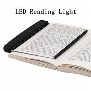 LED Book Light Reading Night Light Flat Plate Portable Novelty Lightwedge Led Desk Lamp for Home Indoor Kids Bedroom