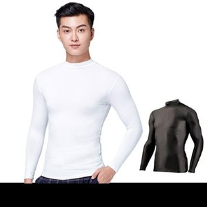 Wholesale PGM Golf Sunscreen UV Mens Ice Tshirts Long Sleeve Anti UV Underwear Male Outdoor Sport Clothing Primer Shirt Underwear D0667