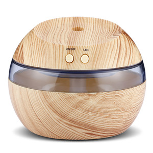 Wholesale HOT SELLING USB Essential Oil Diffuser Ultrasonic Humidifier with Blue Ultrasonic Humidifier Blue LED Aroma Fragrance Diffuser Machine