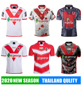 2019 ST GEORGE ILLAWARRA DRAGONS Jersey Commemorative Indigenous Rugby Jerseys Rugby League Jerseys Shirts sport