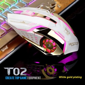 Wired Glow USB Game Mouse Gamer Computer Mice for PC Mouse Laptop Desktop Gamer colorful light DPI LED drive