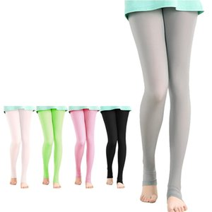 Wholesale Translucent Elastic Golf Legging Stocking Women Sunscreen Panty hose Pants Light Thin Smooth UV proof Outdoor Long Leg Socks
