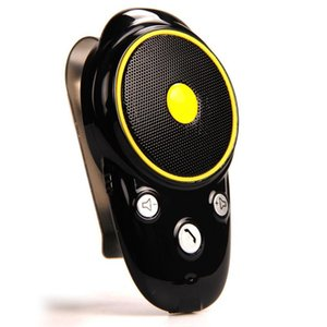 Wholesale Bluetooth Car Kit Sun Visor Speaker Auto Wireless Speakerphone Hands free Car kit Audio Music Receiver for Cell Phone