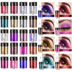 Wholesale Pudaier Face Body Hair Eye Glitter Pigments Highlighter loose Shimmer Powder Glitter Makeup High Gloss Flash
