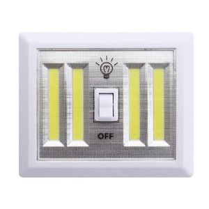 Wholesale Portable Led Night light Battery Operated COB LED Panels Manual Switch Light Indoor Light Mount in Closets Bedroom Cabinet Shelf