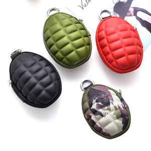 Wholesale Large capacity key pack PU pure color Cute little creative change wallet Simple multi function car key bag