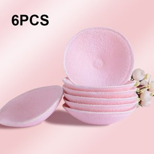Wholesale 6PCS Breast Pads Washable Reusable Soft D Cup Maternity Nursing Pads Ecological Organic Surface Cotton Postpartum Breast