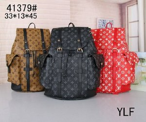 Hot Sell Classic Fashion bags brand designer Women Men Backpack Style Bag Shoulder Handbags Travel hiking bag #41379 (9 colors for choose)