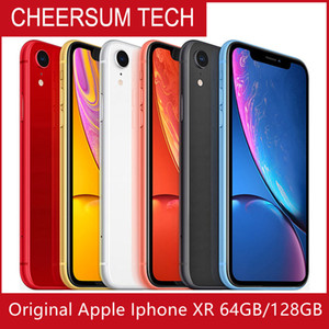 Refurbished Original Unlocked Apple iPhone XR A12 4G LTE Mobile phone 6.1'' 12.0MP 3G RAM 64G 128G ROM Face ID Cellphone