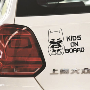 Wholesale Reflective Kids on Board Car Stickers Warning Decal Exterior Accessories Cute Car covers Accessories Funny Decoration Sticker Car Styling