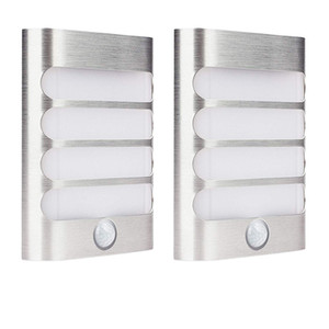 Luxury Aluminum Stick Anywhere Bright Motion Sensor LED Wall Sconce Night Light Battery Operated Auto On Off for Hallway Closet Pathway on Sale