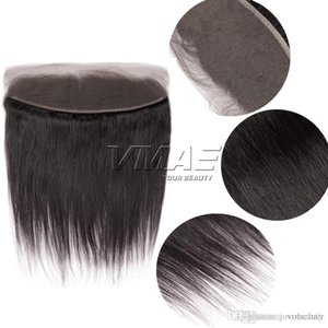 Wholesale Brazilian Straight Lace Frontal Closure Ear to Ear Free Part Pre Plucked Closure with Baby Hair VMAE HAIR