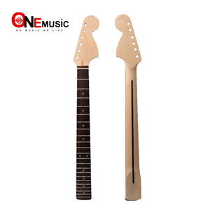 BIG HEAD 22 Frets Maple Guitar Neck Rosewood Fingerboard For ST Strat Replacement on Sale