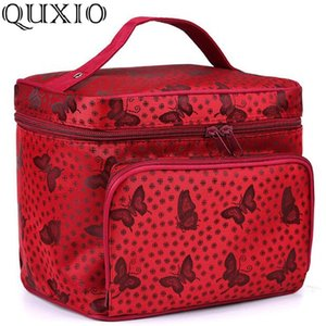 Wholesale Large Capacity Storage Woman Cosmetic Bags Necessary Travel Toiletry Bag Butterfly Pattern Organizer Beauty Makeup Bag JH639