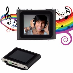 Wholesale Freeshipping Portable Inch LCD Screen Display th Generation Music Media Video Movie FM Radio MP4 Player Support GB Micro SD TF Card