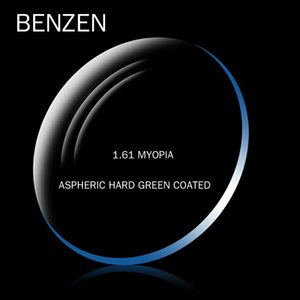 Wholesale BENZEN Prescription Lenses Women Men Single Vision CR Resin Aspheric Glasses Lenses Myopia Optical Lens