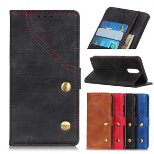 Wholesale Denim texture Wallet Case for Oppo Realme C2 X A5 A7 Flip Cover Case for Oppo RENO G X K1 K3 R17 NEO AX5 AX5S F11 Pro A1K Phone Case