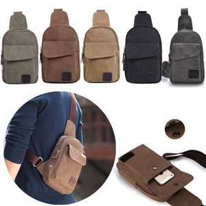 Wholesale Men s Small Chest Sling Bag Travel Hiking Cross Body Messenger Shoulder Backpack