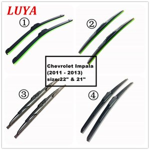 "LUYA Four kinds of wiper Blade in Car windshield wiper For Chevrolet Impala (2011 - 2013) size:22"" & 21"""