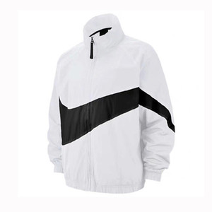Wholesale Designer Windbreaker Men Casual Sports Jackets Running Coats Black White Yellow Red Colors Zipper Hoodies M XL CE98262