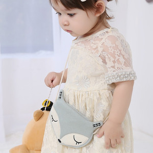 Cute Cartoon Baby Shoulder Bags Mini Cotton Messenger Bags Girls Decorate Handbag Children Kid Crossbody Christmas Gift