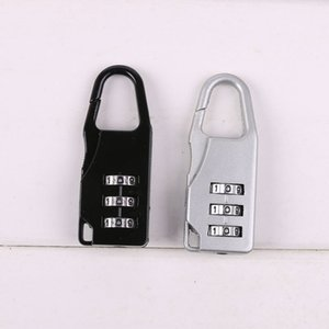 Travel Luggage Lock 3 Digit Combination Padlock Zinc Alloy Number Lock Code For Zipper Bag Backpack Handbag Suitcase Drawer DBC VT0658