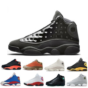 Wholesale With Box High Quality Bred Chicago Flint Grey Men Women air Basketball Shoes s He Got Game Melo DMP Hyper Royal j13 retro Sneakers