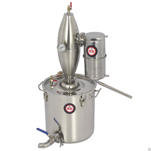 Wholesale 30L Gal Moonshine Still Home Alcohol Oil Distiller Wine Making Water Brew Kit Alcohol Distilling Machine