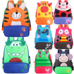 Lovely Kids Backpack Toddler Baby Boys Girls Kids Animal Pattern Animals Backpack Cute SHoulder School Bag Mini Travel Bag