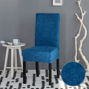 Wholesale Stripped Cross Pattern Spandex Chair Covers Stretch Dining Room Seat Cover Chair Protective Case for Restaurant basen ogrodowy