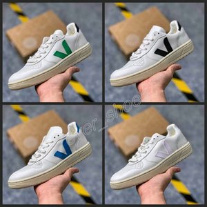 Wholesale 2019 New VEJA ESPLAR Extra Sneakers Leather Casual V Fashion Shoes Mens Women Luxury Superstar White Chaussures Sports Running Trainers