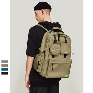 Wholesale Men women bags Solid Pouch Bag military Backpack Polyester streetwear hip hop kanye west Casual Handbags shoulder waist bag