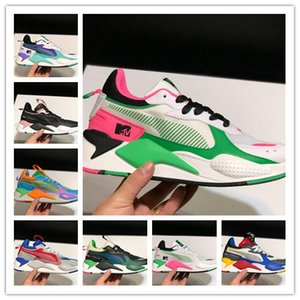 Wholesale designer mens RS X Reinvention running Shoes pink Black white triples Creepers dad Chaussures Men Women Trainer sports Sneakers