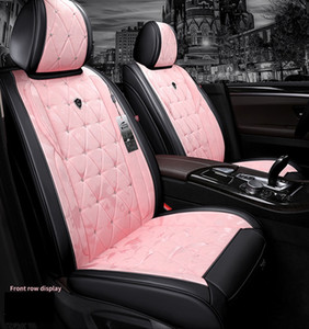 Wholesale quality car seat covers resale online - Universal Fit Car Interior Accessories Seat Covers For Cars Top Quality Durable Leather Five Seats Truck SUV Sudan ZFL008