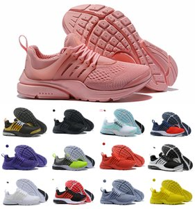 Wholesale 2019 Presto Running Shoes Men Women Ultra BR QS Yellow Pink Prestos Black Air White Oreo Outdoor Jogging Mens Trainers Sneakers Size