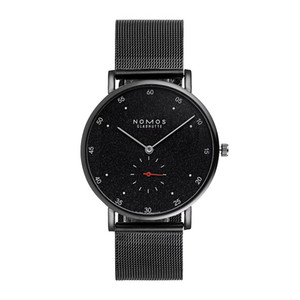 Wholesale 2019 Newest NOMOS Luxury Watches Fine Stainless Steel mesh women watch Dial casual dress Wristwatch Business Gift For Mens relojes clock