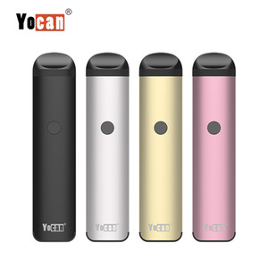 New Yocan Evolve 2.0 E Cigarette Kits Wax Vape Pen Vaporizer Kits With 3 Pods For Thick Oil Ejuice 650mAh Preheating Battery