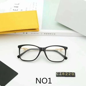 Wholesale Designer Glasses Luxury Sunglasses Fashion Optical Myopia Glasses for Woman Pearl Glass Brand C8220 Colors High Quality with Box