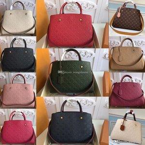 Montaigne leather women Shoulder handbag M44311 Messenger bag M41056 Commuter bags CrossBody bags female wallet purse withbox