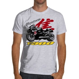 Wholesale Hayabusa Racer Soft Cotton White or Gray Gsxr Suzuki Brand Men Short Sleeve Cool Casual Cute T Shirts