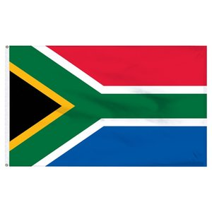 Wholesale factory price Polyester cm ZA RSA SA South Africa Flag For Decoration